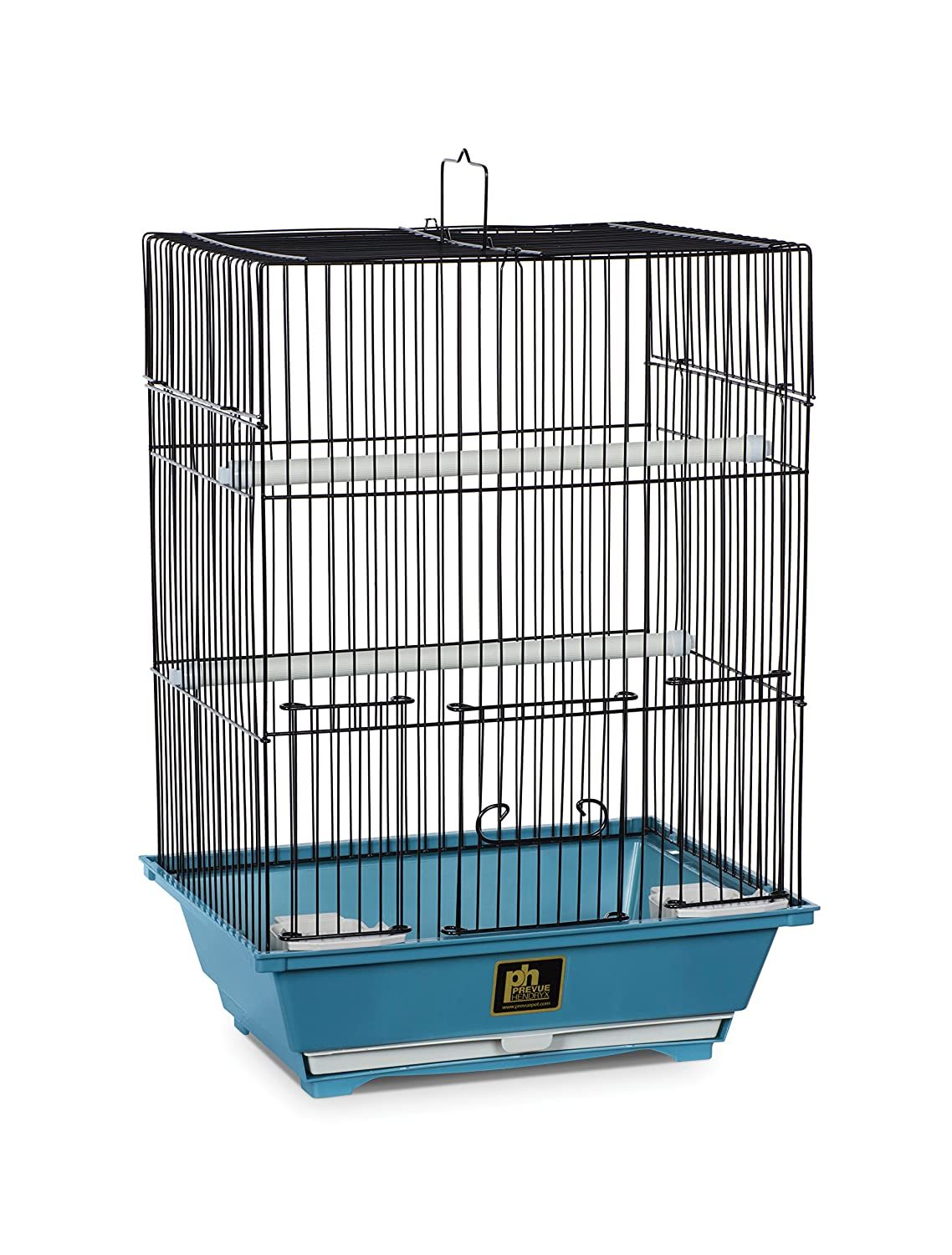 Prevue Pet Products Slate Bird Cage with Removable Tray Small Blue Inc. SP50021