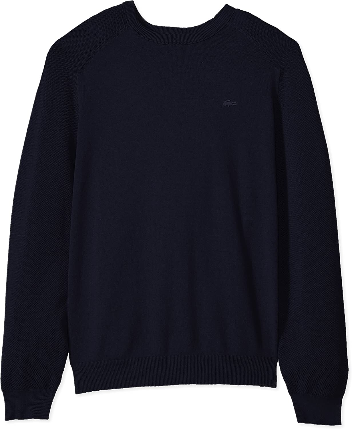 Lacoste Mens Long Sleeve Casual Elegance Premium Crew Sweater AH4544