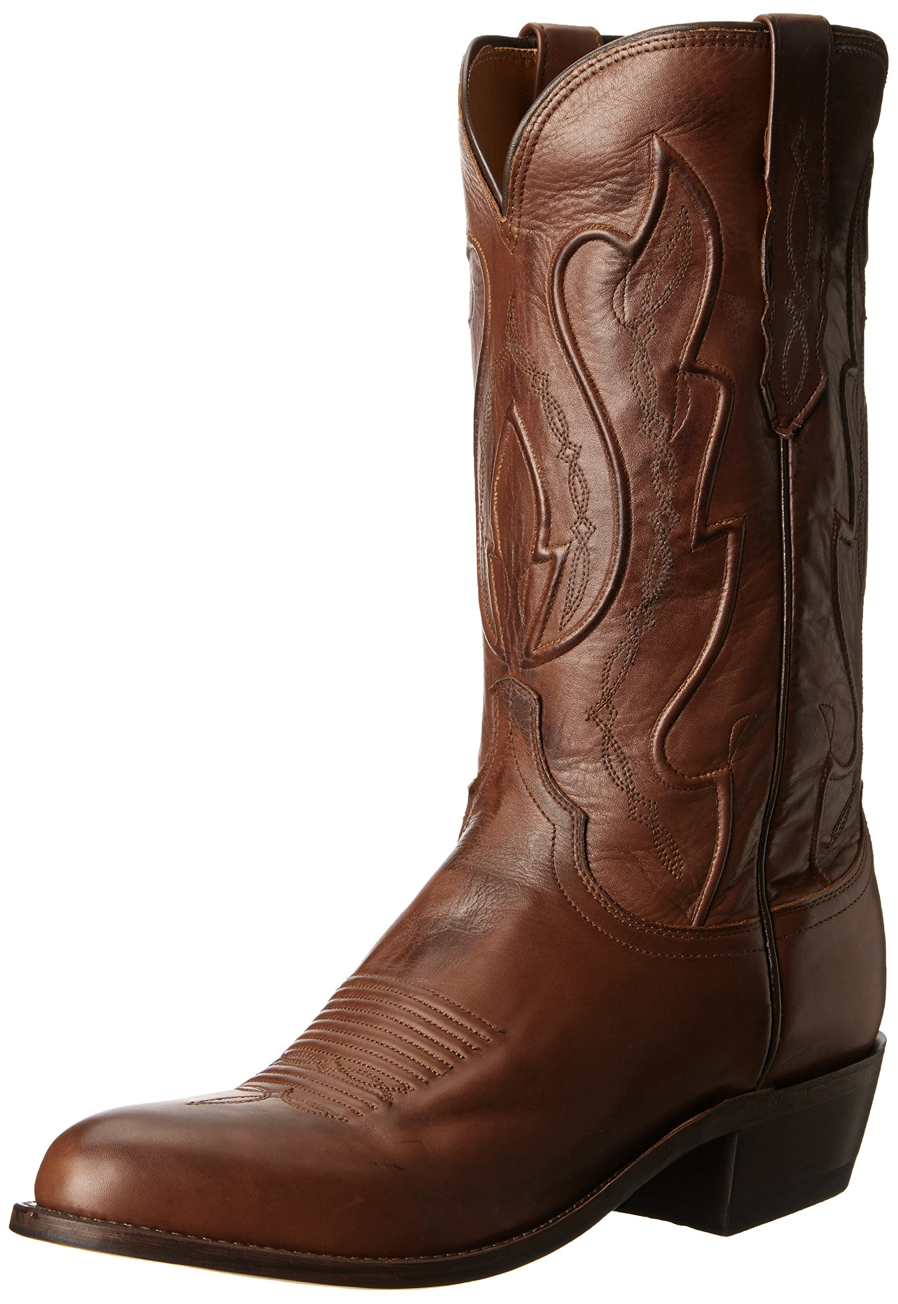Lucchese Bootmaker Men's Cole-TN RNCH Hand Riding Boot, Tan Ranch, 12 D US