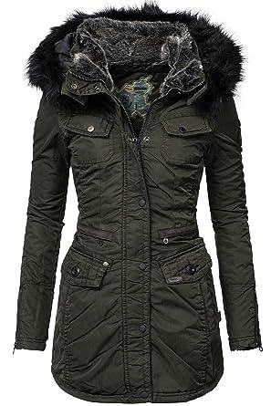 Khujo Winter Mantel Damen Chi pGSUVqzM