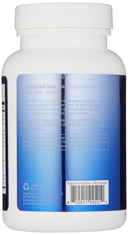 Amazon.com: Osmosis Skincare completa la enzima digestiva ...