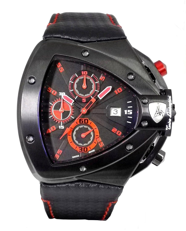 【トニノ ランボルギーニ ウォッチ】Tonino Lamborghini 腕時計 TL/SPYDER 9800シリーズ 9813BB【クロノクオーツSWISS MADE】【メンズ】【正規品】 B07BJXRZ9J