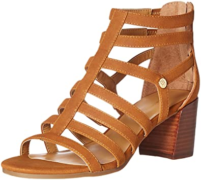 a1e2cbb1835f4 Tommy Hilfiger Women s Cathy Dress Sandal Natural LL 8.5 ...