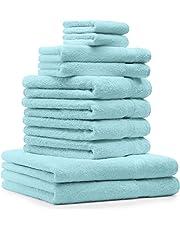 BETZ Juego de 10 Piezas de Toallas Premium 100% algodón 2 Toallas de baño 4
