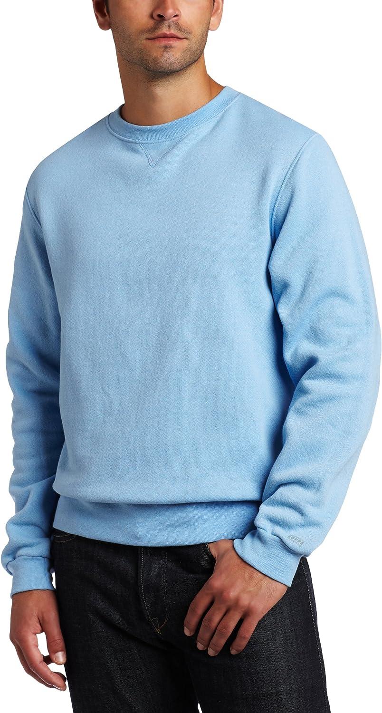 MJ Soffe Mens Soffe Training Fleece Crew Sweatshirt