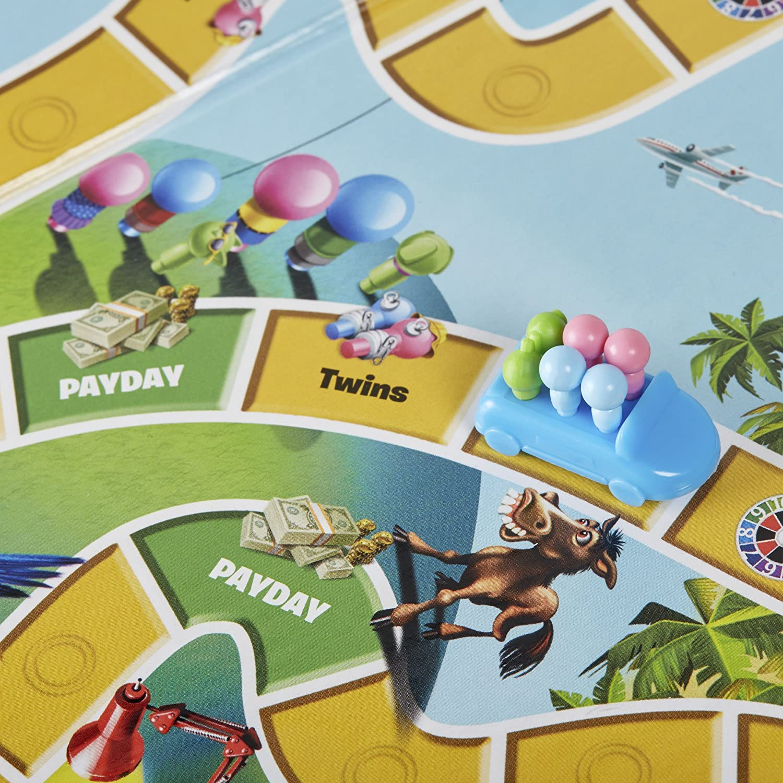 Hasbro The Game of Life Viajes/Aventuras Niños y Adultos - Juego de Tablero (Viajes/Aventuras, Niños y Adultos, Niño/niña, 8 año(s), 100 Pieza(s), Multicolor): Amazon.es: Juguetes y juegos