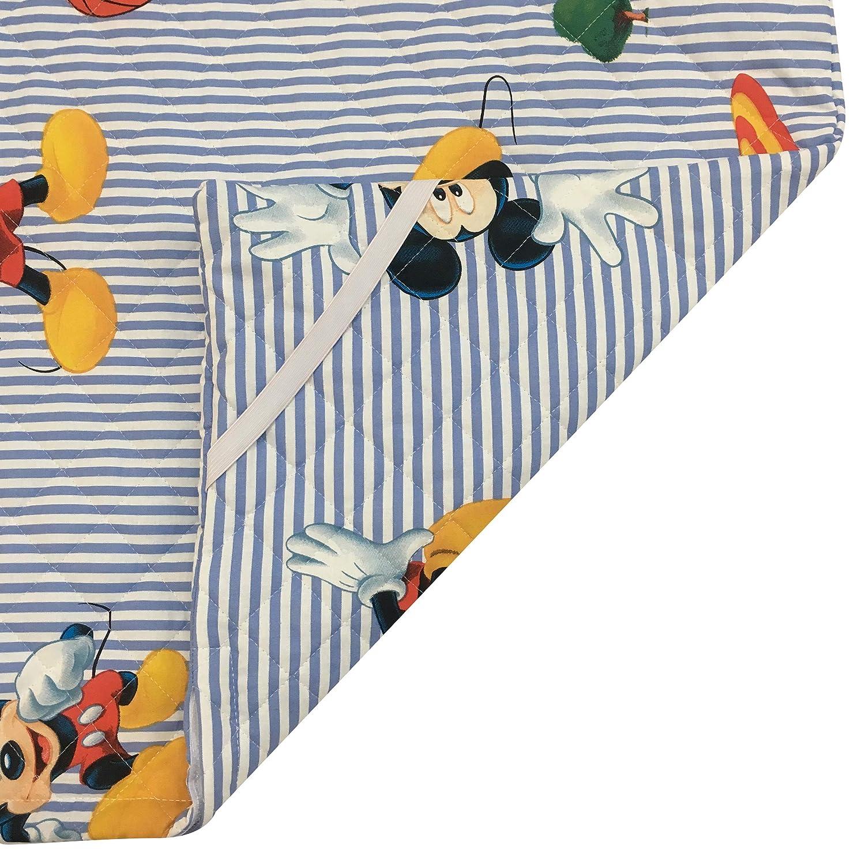 Saco De Dormir Infantil para Ni/ño Y Ni/ña De 2 A 6 A/ños Tela Acolchada 100/% Algod/ón Hipoalerg/énico -Ideal para La Guarder/ía Y El Hogar Panini Tessuti Made In Italy