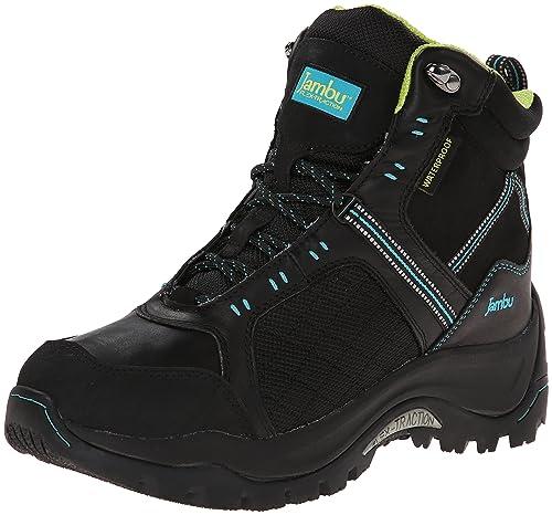 Jambu Women's Flex Climber Black/Turquoise boots 6.5 M