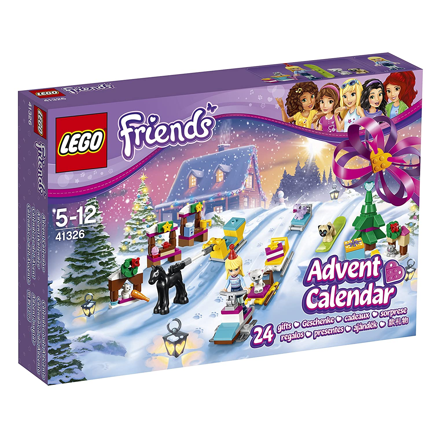 LEGO Friends Calendario de Adviento (41326)