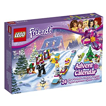 LEGO 41326 Friends Advent Calendar 2017 Construction Toy: LEGO ...