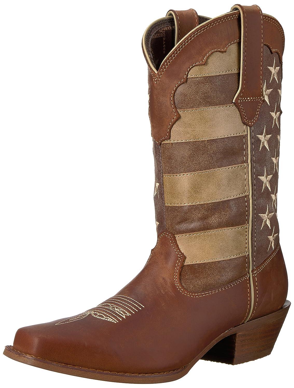Durango Women's DRD0131 Western Boot B01H7CUN7I 9.5 B(M) US|Brown/Union Flag