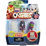 "Ooshies Set 4 ""Marvel Series 1"" Action Figure (4 Pack)"
