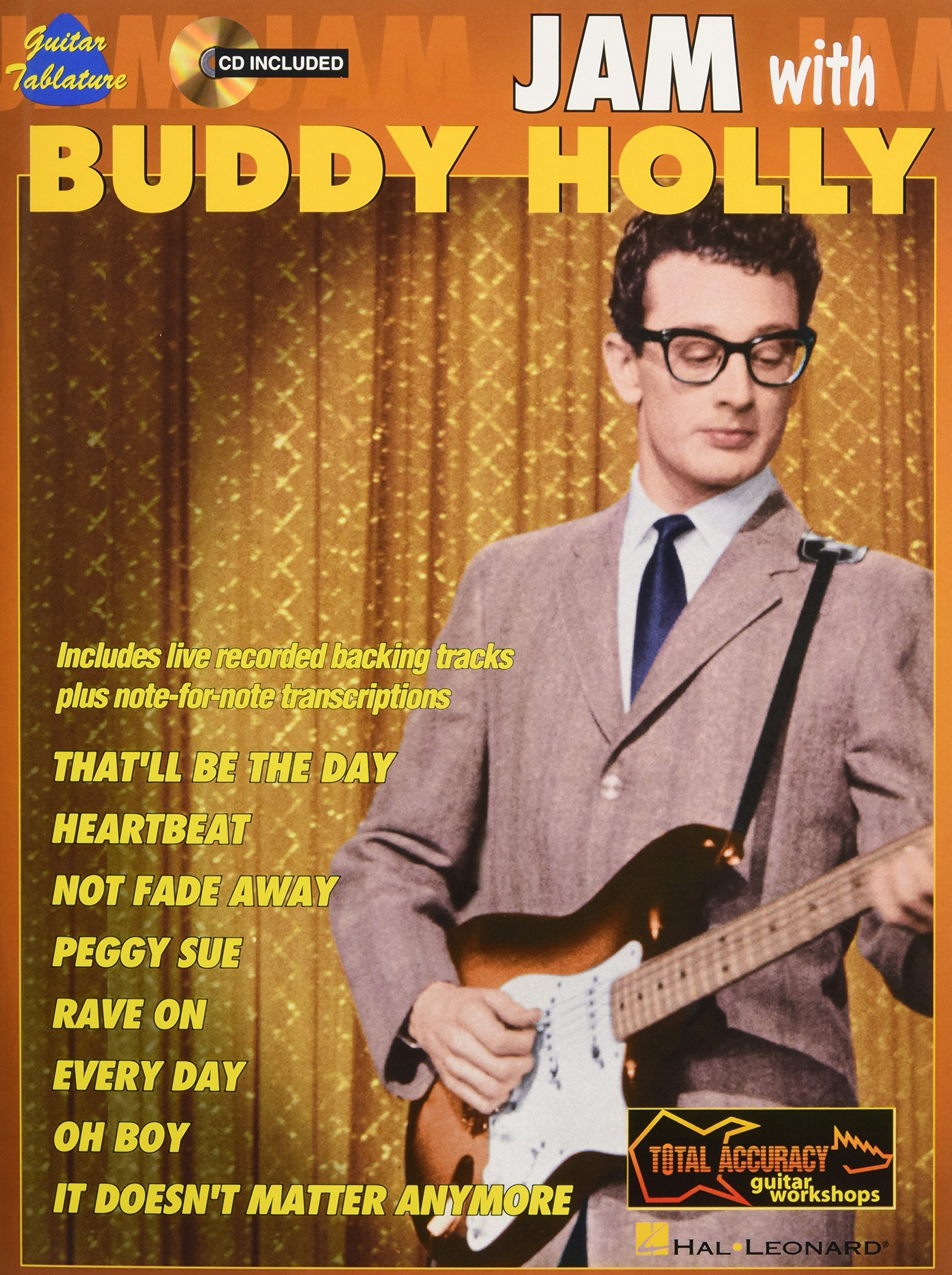 Buy Jam With Buddy Holly Total Accuracy Guitar Workshops Book