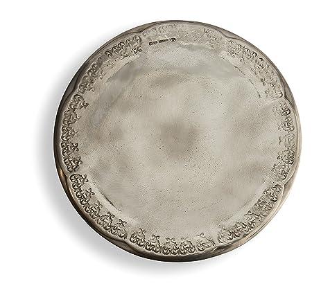 Arte Italica Vintage Cake Plate Pewter  sc 1 st  Amazon.com & Amazon.com | Arte Italica Vintage Cake Plate Pewter: Dessert Plates