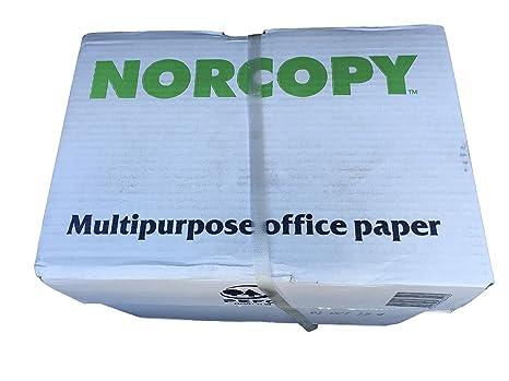 Norcopy A4 Diseño Papel de Fotocopias Multiusos Impresora Láser ...
