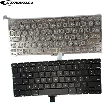 """Macbook Pro 13/"""" Unibody Top Case A1278 2011 2012 US Layout Trackpad Keyboard"""