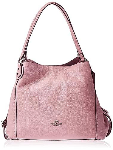 ec19e471 COACH Women's Refined Pebble Leather Edie 31 Shoulder Bag
