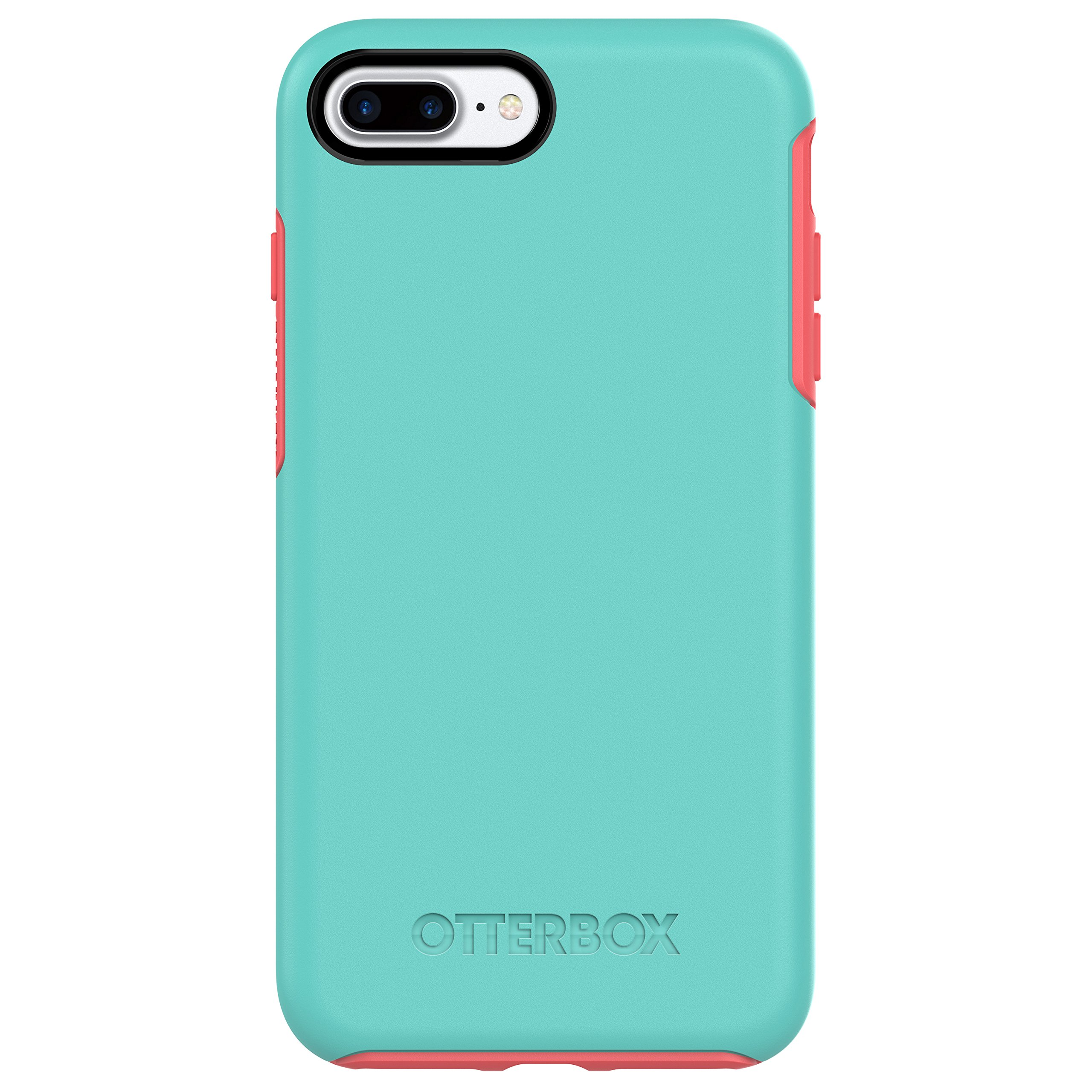 free shipping fe869 459ba OtterBox SYMMETRY SERIES Case for iPhone 7 Plus (ONLY) - Retail Packaging -  CANDY SHOP (AQUA MINT/CANDY PINK)