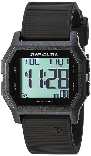 Rip Curl A2701-BLW - Reloj Digital de Cuarzo con Correa de Silicona para Hombre: Amazon.es: Relojes