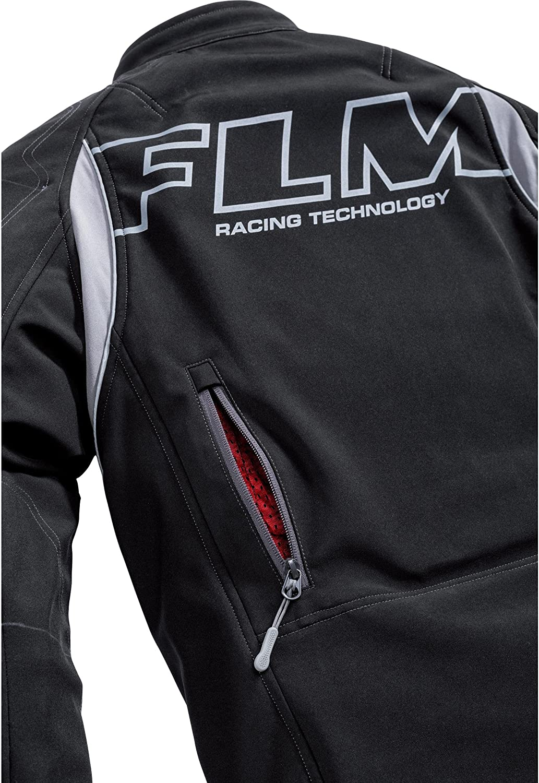 FLM Motorradjacke mit Protektoren Motorrad Jacke Sports Softshelljacke mit Protektoren 1.0 Herren Ganzj/ährig Textil Sportler