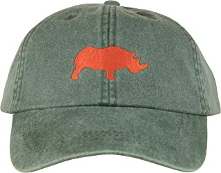 product image for Maine Made Belted Cow Rhino Design Baseball Hat for Men and Women