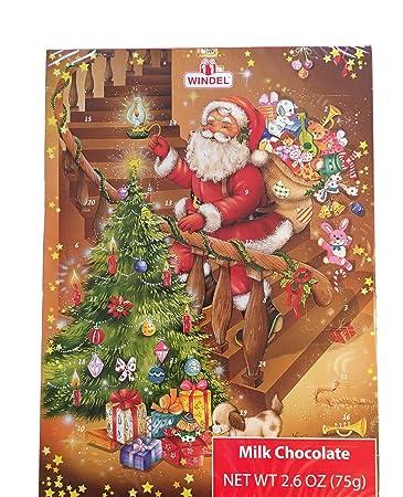 Windel Weihnachtskalender.Windel 2017 Christmas Advent Calendar 24 Milk Chocolates 2 6 Oz