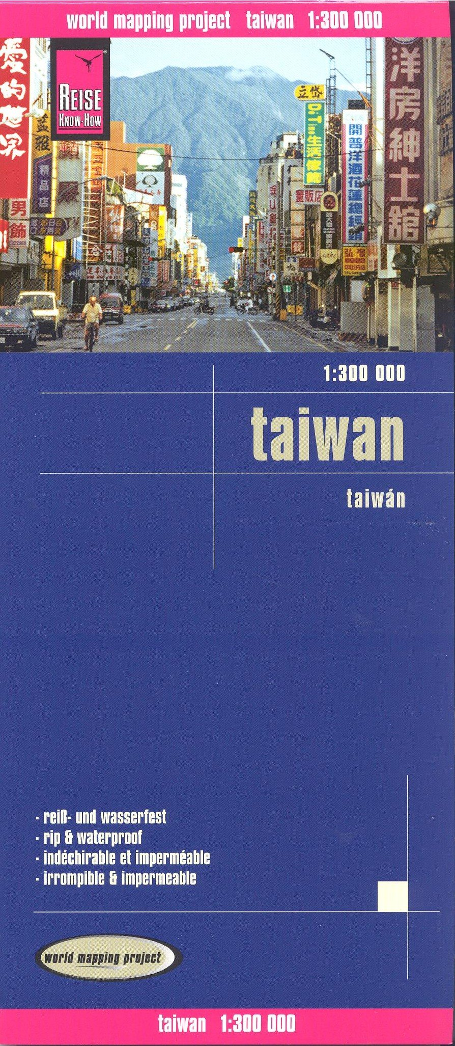 Taiwan 1:300,000 Travel Map, waterproof, GPS-compatible, REISE pdf