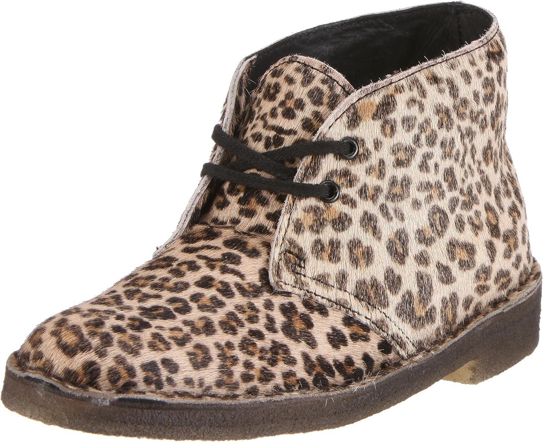 leopard print desert boots
