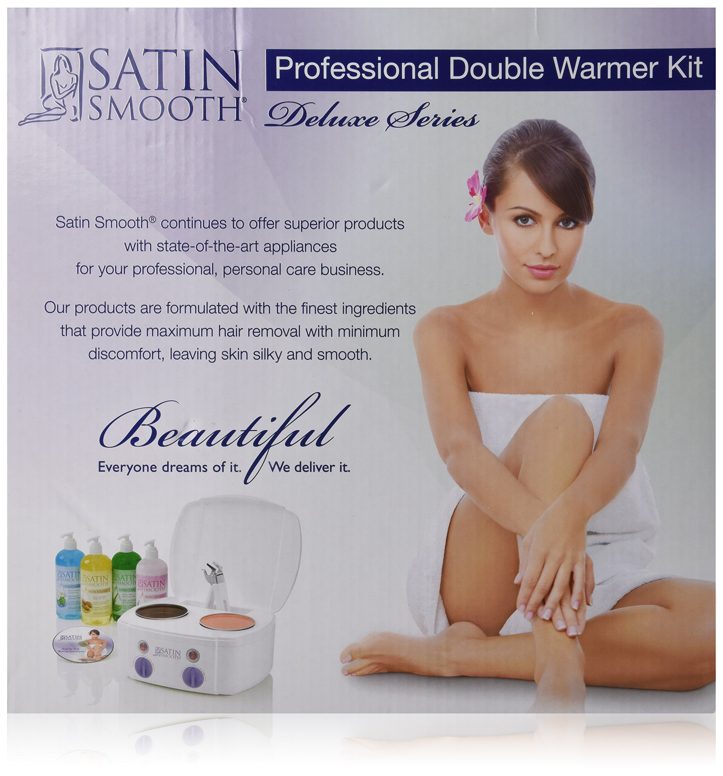 Satin Smooth Double Wax Warmer Kit
