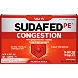 Sudafed Pe Congestion, 36 Count