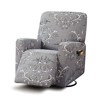 Amazon.com: TIKAMI - Fundas elásticas para sillón reclinable ...
