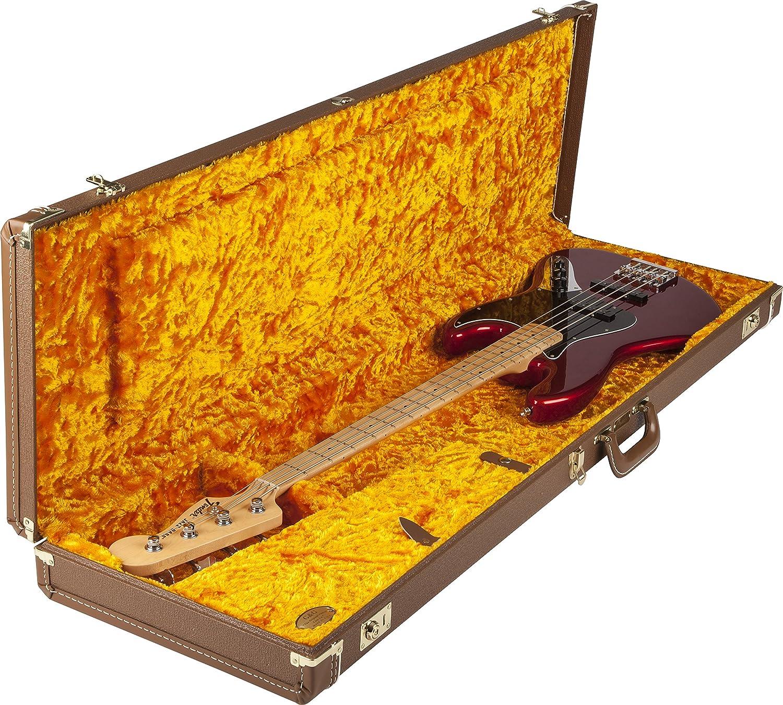 Fender Deluxe Brown Case for Jazz Bass