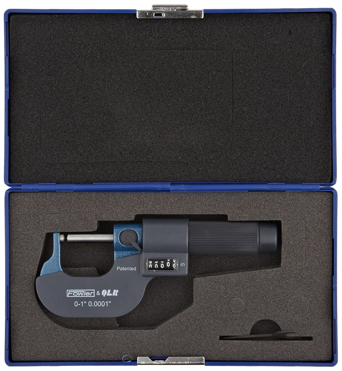 Fowler Company Inc 52-244-621-0 Fowler 52-244-621 EZ-Read Ball-Anvil//Ball Spindle Micrometer 0-1 Measuring Range 0.0002 Accuracy 0-1 Measuring Range 0.0002 Accuracy Fred V
