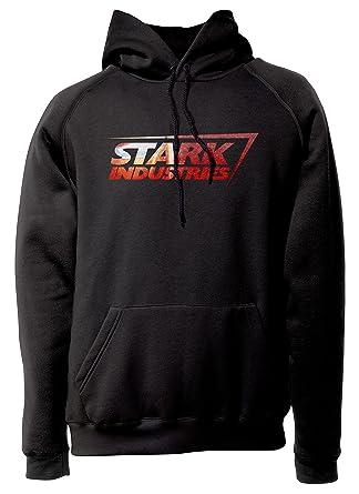 LaMAGLIERIA Sudadera Unisex Iron Man - Stark Industries - Sudadera con Capucha Superhéroes: Amazon.es: Ropa y accesorios