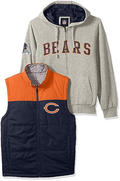 wholesale dealer 3255f e66f9 G-III Sports NFL Men's 3-in-1 Fleece Full Zip Systems Jacket
