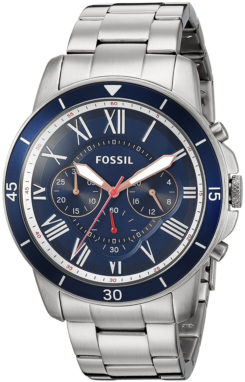 Buy Fossil Chronograph Blue Dial Mens Watch Fs5238 Online At Low Fs4736 Prices In India