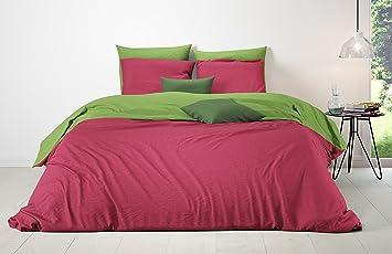 Mistral Home – Bettwäsche 155x220 cm Baumwolle + Reißverschluss Zum ...