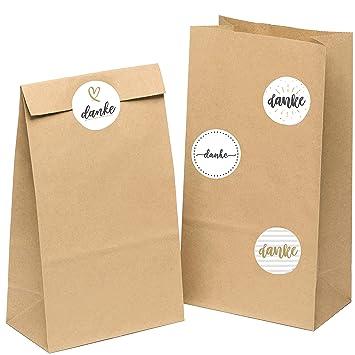 50 bolsas de papel de estraza bolsas de regalo bolsas de ...