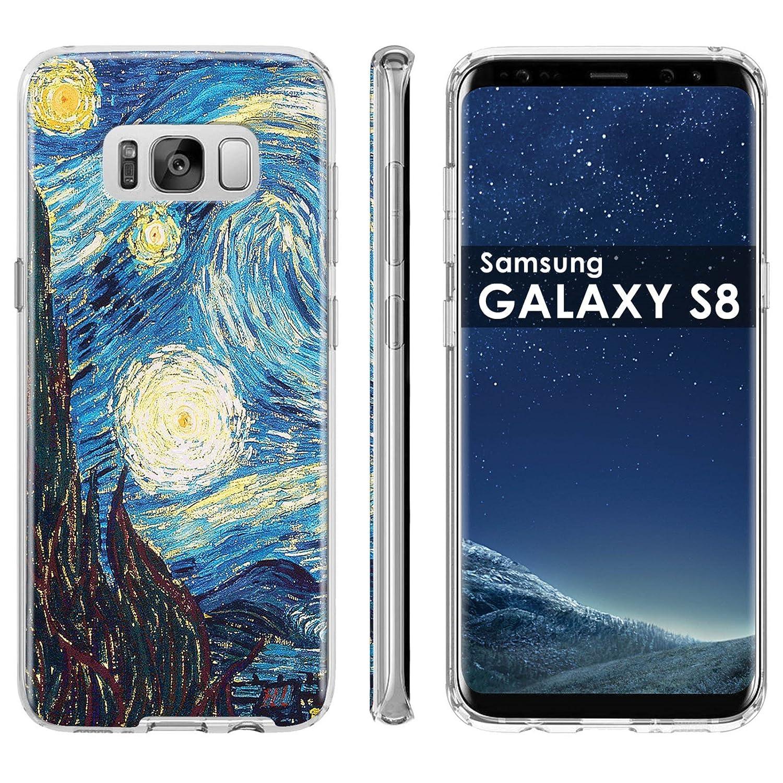 the latest 45ba3 ba49a Amazon.com: Samsung Galaxy [S8] Phone Case [ArmorXtreme] [Clear ...