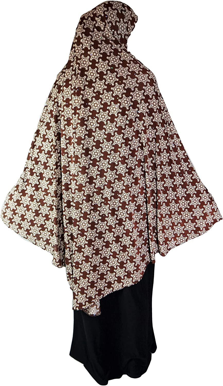 XL Khimar Long Ready Made Hijab per Muslimah One Piece Elastico Foulard Lycra Materiale Chadors Arabia Islamica Preghiera Dress Abbigliamento Musulmano Scialli
