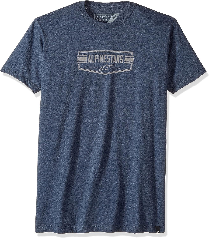 Alpinestars–Camiseta Emblema ATIC Motor Sports Modern Fit Short Sleeve, Hombre, 1037-72036