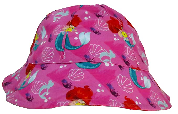 8aa6dc9ebb8a3 Image Unavailable. Image not available for. Color  Disney Princess Ariel  Girls Sunny Bucket Hat Infant Toddler ...