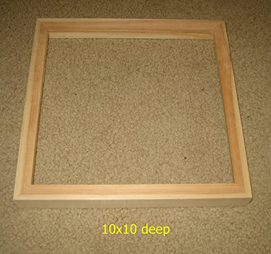 Amazon 10x10 Picture Frame With Deep Rabbet For Canvases