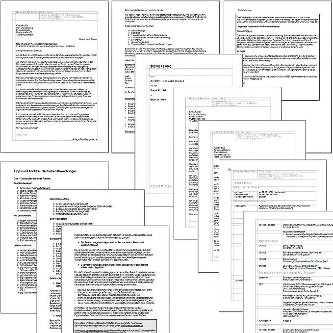 Bewerbungspaket TECHNIK: Bewerbungs-Ratgeber, Checklisten und 20 ...