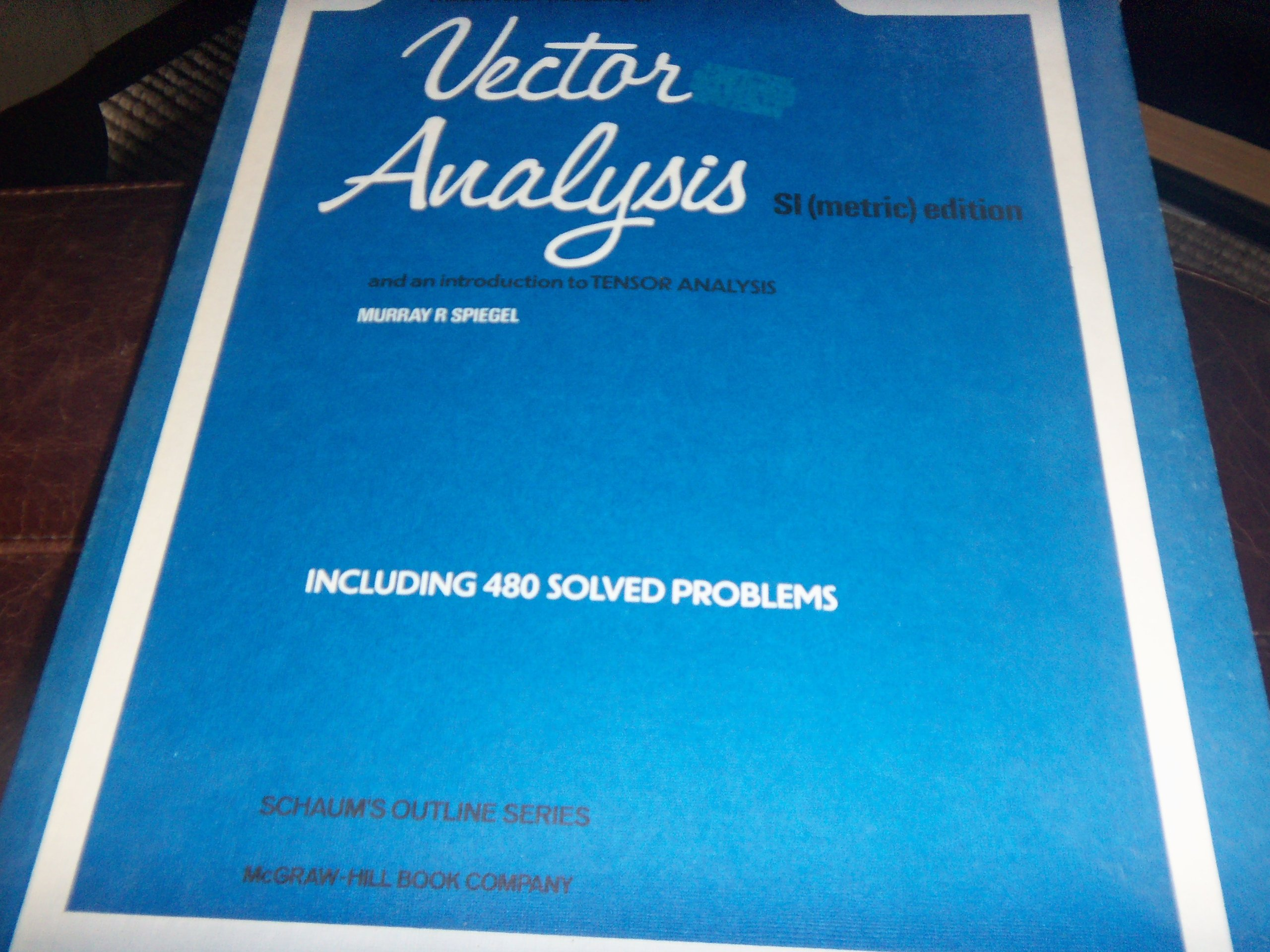 Schaum Vector Analysis Pdf
