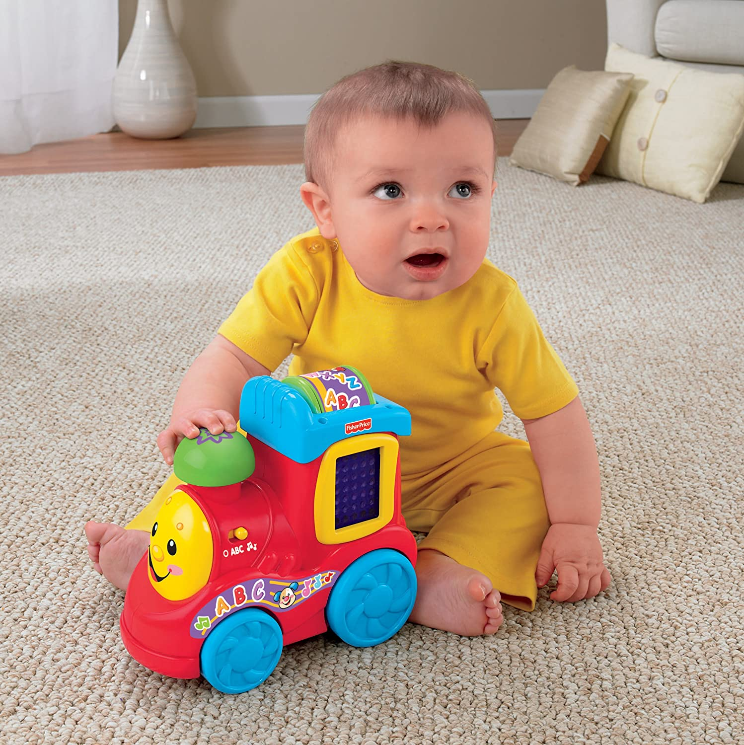 Amazon Fisher Price Laugh & Learn ABC Train Toys & Games