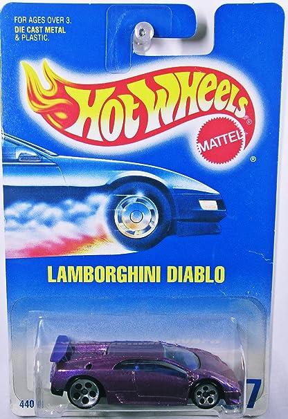 Buy Hot Wheels Purple Lamborghini Diablo 227 Online At Low Prices