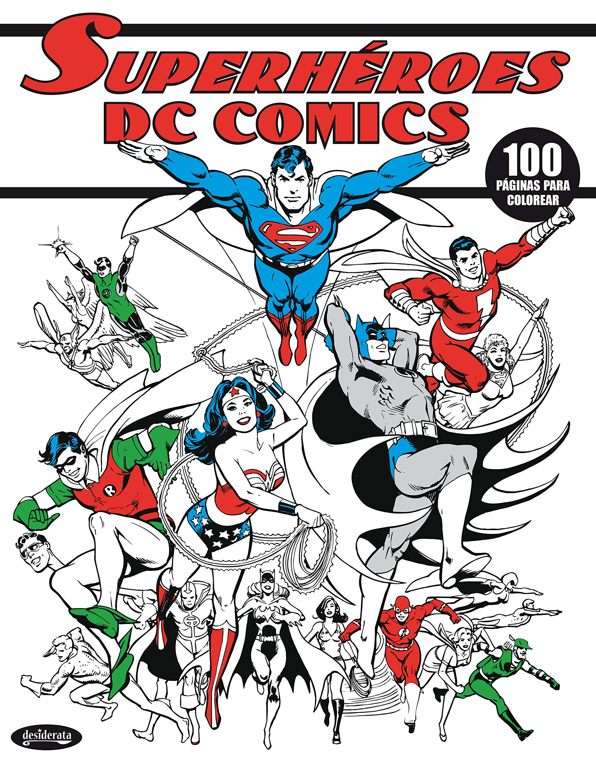 DC COMICS SUPERHÉROES: LIBRO PARA COLOREAR: Amazon.es: VV.AA.: Libros
