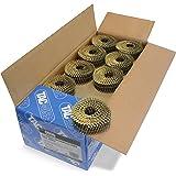 Tacwise 0996 - Caja de bobinas planas de clavos galvanizados y anillados 2.1/40 mm (360 calvos en cada bobina)