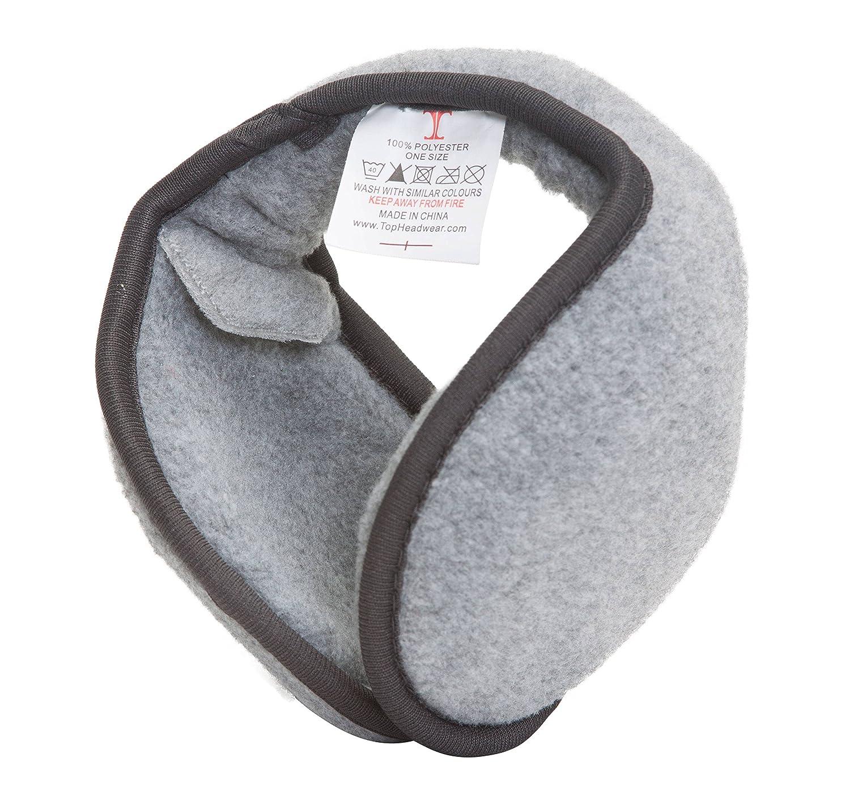 TOP HEADWEAR TopHeadwear Retractable Adjustable Foldable Back of Head Earmuffs